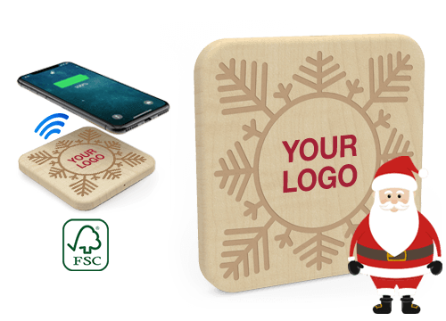 Forest Christmas - Promotional Wireless Charging Pad