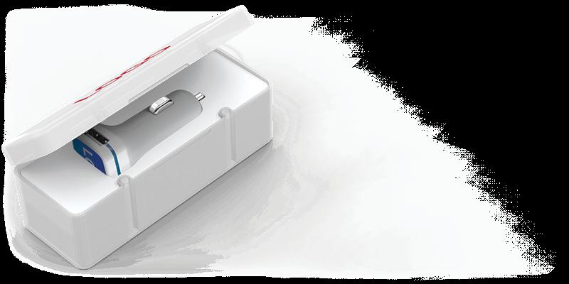 Vista - USB Car Charger Promotional Item