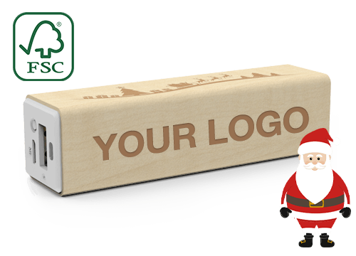 Maple Christmas - Branded Power Bank