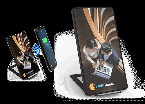 Stand - Bulk Wireless Charging Phone Pads