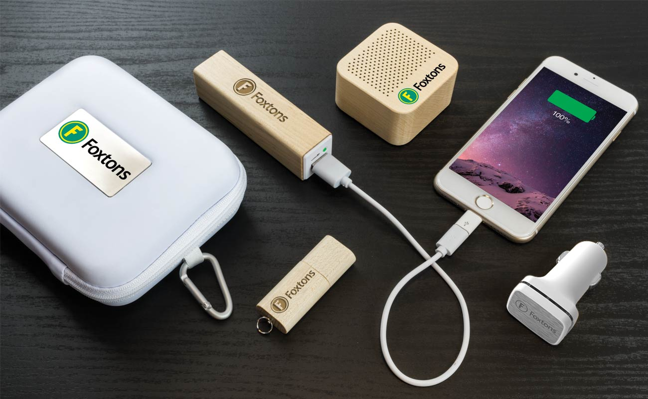 Maple L - USB Promotional, Credit Card Power Bank, Promotional Car Charger and Custom Speakers