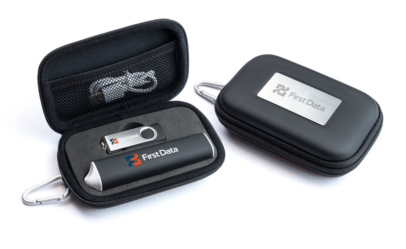 Pure S - USB Promotional and Credit Card Power Bank