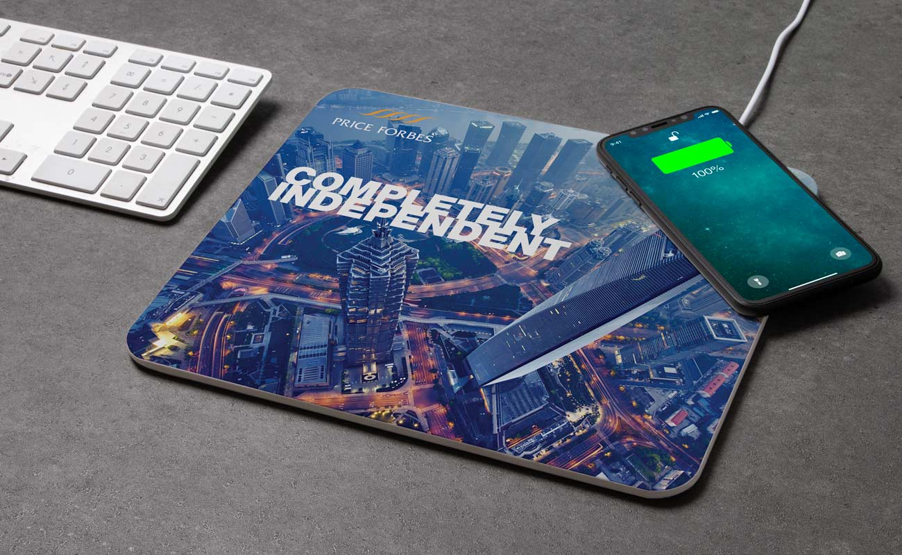 Stage - Custom Mouse Mats Wireless Charger