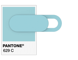 Pantone® References Webcam Cover